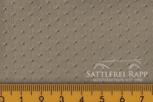 H42 Himmelkunstleder mit Sternperforation beige ca.1,40m breit