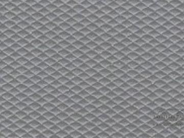 H16 Himmelkunstleder Raute klein grau ca.1,40m breit