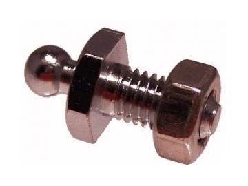 T06n/10 Loxx Unterteil Gewinde M5x10 mm vernickelt