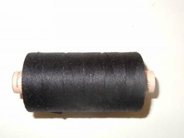 N01s Faden Saba 30/KW 300 m schwarz/weiß/hellbeige 100 % Polyester