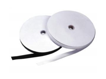 N20 Klettband 20 mm schwarz zum Aufnähen