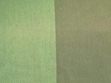REC100og Recaro Stoff Monza Olivgrün, zwei Ton, Flachgewebe