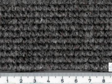 TB01g Boucle Teppich grau ca. 2,04m breit