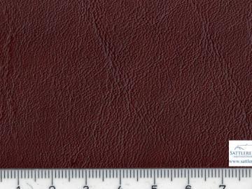 Kl10r Kunstleder dunkelrot glatte MB Narbung ca. 1,40 breit