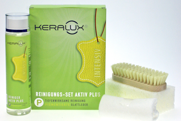 P07 KERALUX® Reinigungs-Set Aktiv Plus P
