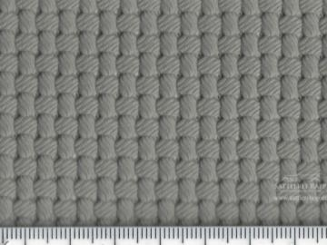 KL006g Kunstleder mit Perforation grau Flechtnarbe VW Citroen ca. 1,40 breit