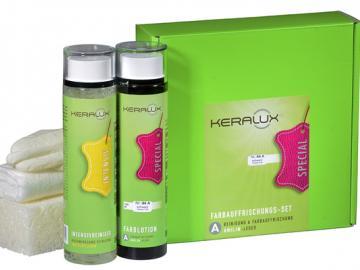 P04A KERALUX® Farbauffrischungsset für Anilinleder Standard/Farbkarte
