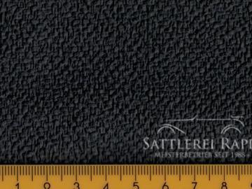 H14s Himmelkunstleder ungelocht schwarz 1,20 breit