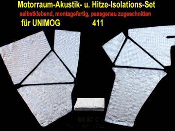301910 Unimog 411 Akustik- und Hitze Isolations Premium-Set