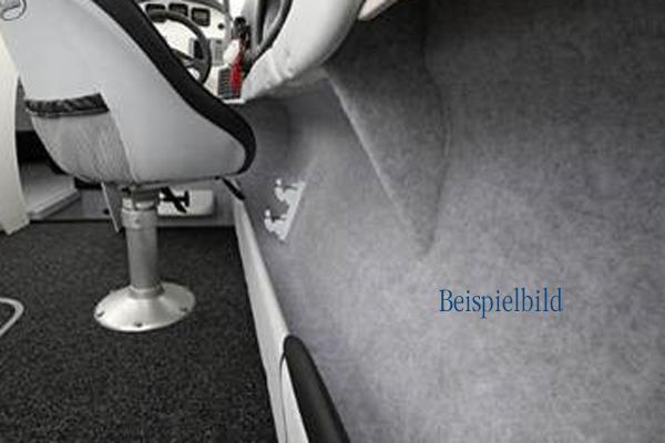 PFD01g Nadelfilz sehr flexibel grau 2,05 m breit