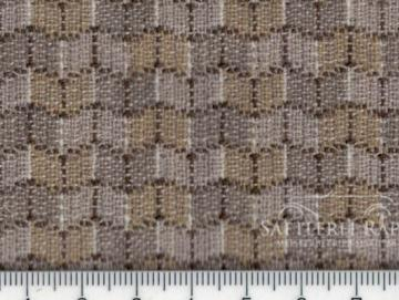 MER101pg Polsterstoff Mercedes W123 Serie 1 Rhombe Coupe pergament beige