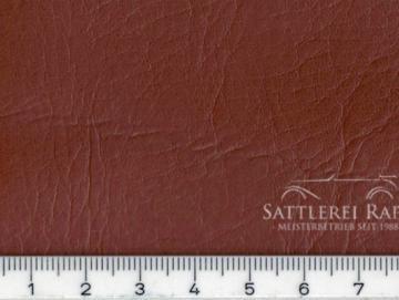 AG006rb Kunstleder rotbraun Sonderposten ca. 1,40 breit