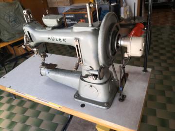 Adler105 - 8Nähmaschine Freiarm Industrienähmaschine Sattler
