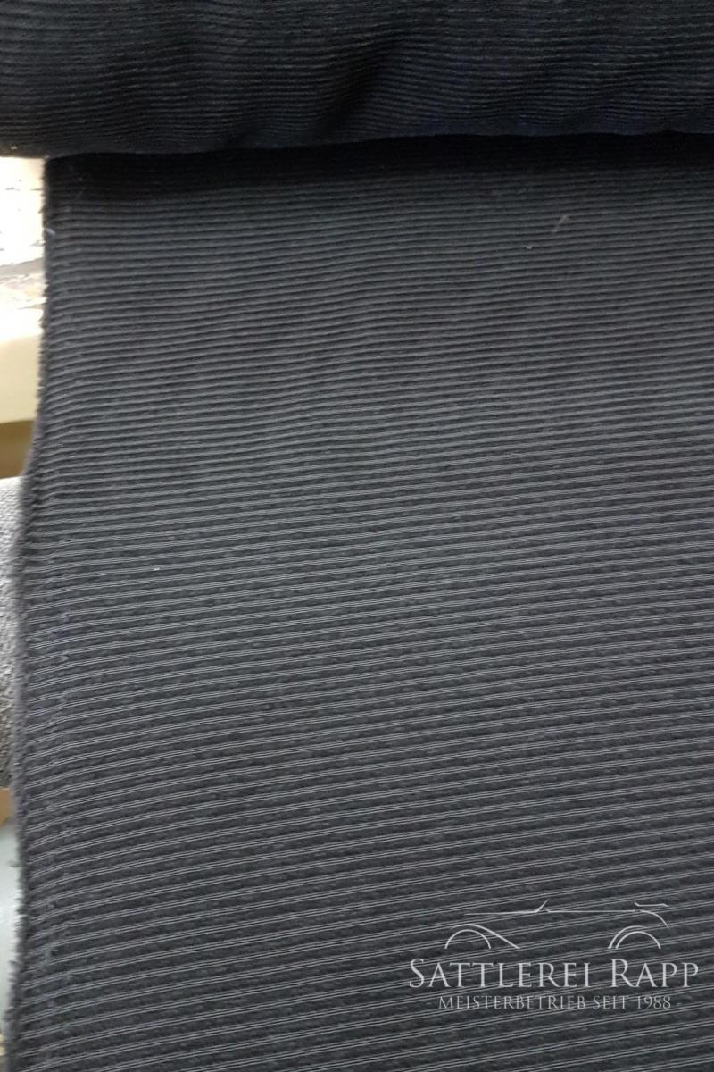 CordSch Cordstoff schmal schwarz ca. 1,80m breit Sonderposten