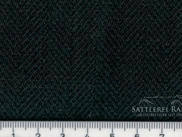 MER210grZ Mercedes Fischgrat fischgrät Stoff grün 80 cm x 25 cm
