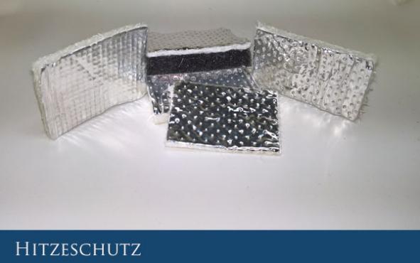 Hitzeschutz Unimogset Wu00e4rmeisolation Fahrzeugisolation KFZ Hitzeschutz Alubeschichtung