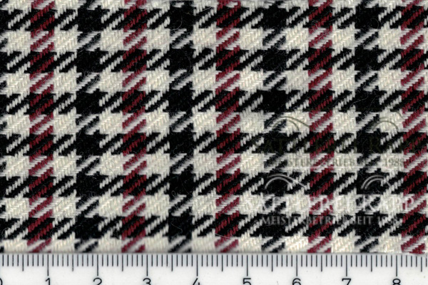 porsche pepita hahnentritt 911 356 stoff weiss schwarz rot fabric tissu tela tessuto bezug. Black Bedroom Furniture Sets. Home Design Ideas