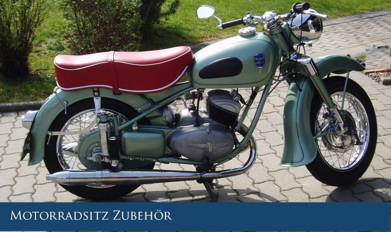 Motorradsitz-Zubehör Sattlershop