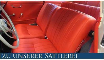 Autosattlerei Sattlerei Rapp Innenausstattungen Oldtimerpolsterungen
